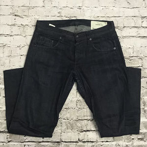 Rag & Bone Dark Wash Tonal Selvage Standard Issue